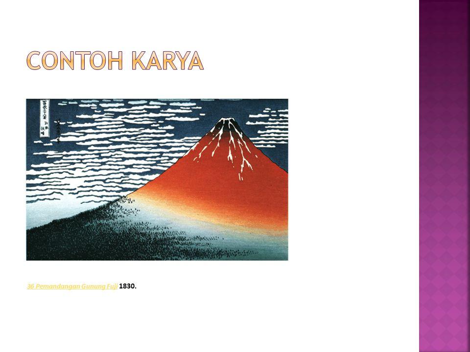 36 Pemandangan Gunung Fuji 36 Pemandangan Gunung Fuji 1830.