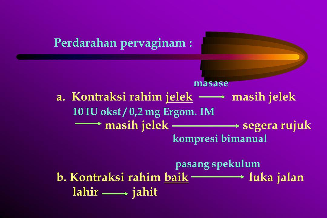 Laktasi Selama 2 hari nifaskolostrum Kolostrum :  Kuning, BD 1,030 – 1,035  Albumin  Laksans  Euglobulin/antibodi ( IgA ) Keadaan yang melarang ibu menyusui :  Mastitis purulenta  Peny.