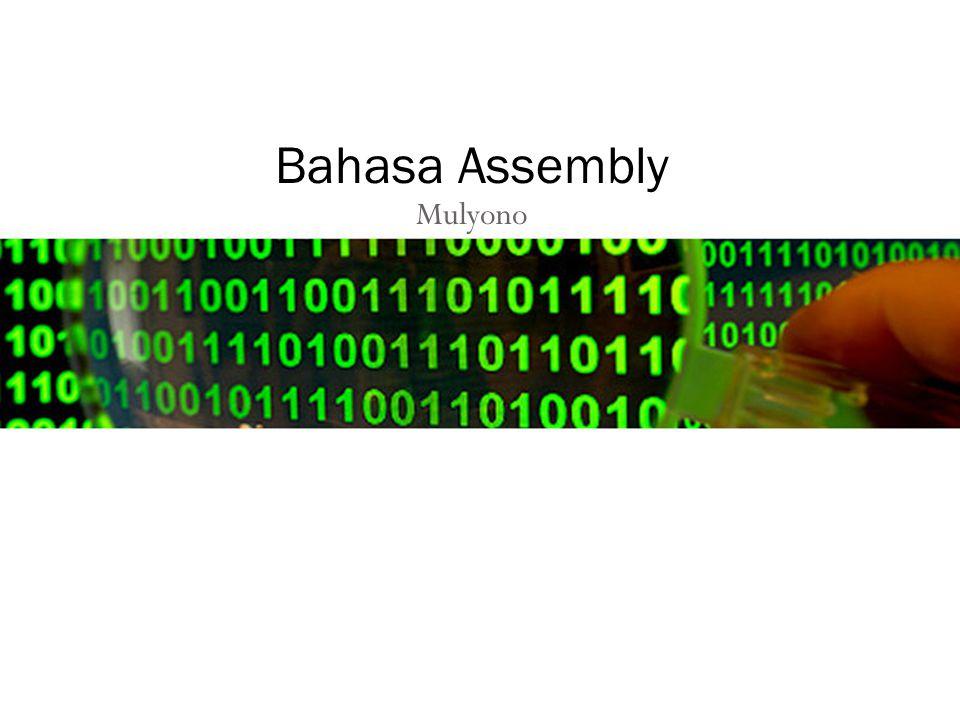 Mulyono Bahasa Assembly