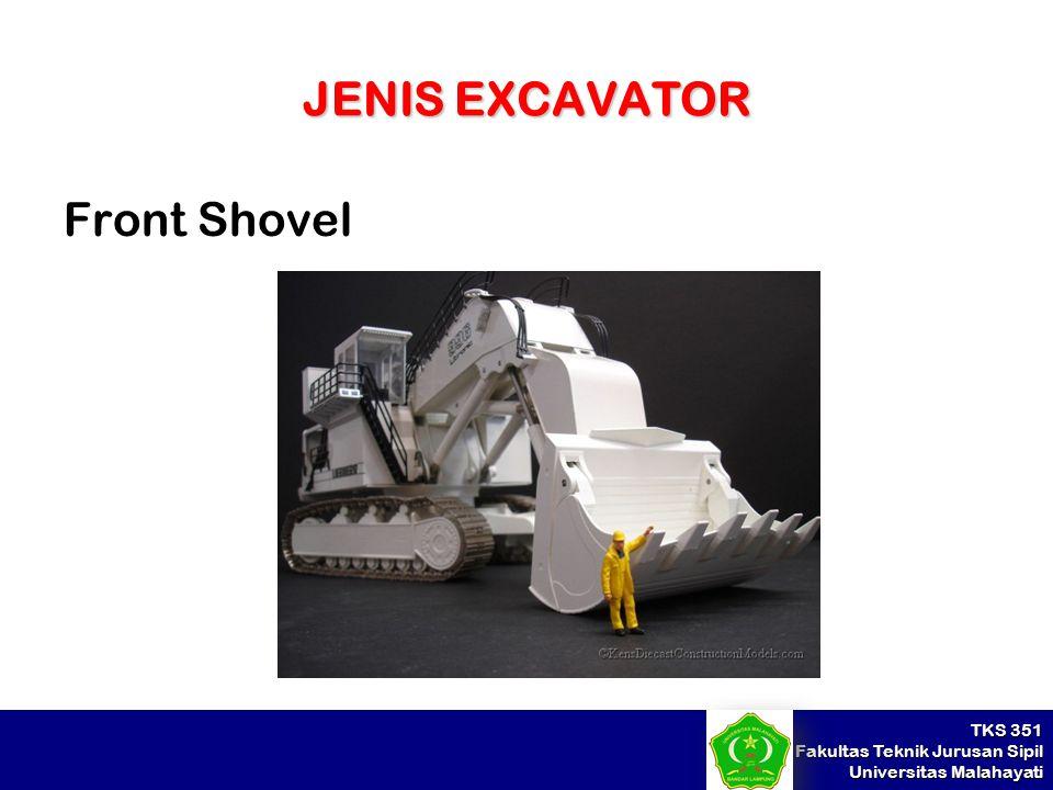 TKS 351 Fakultas Teknik Jurusan Sipil Universitas Malahayati JENIS EXCAVATOR Front Shovel