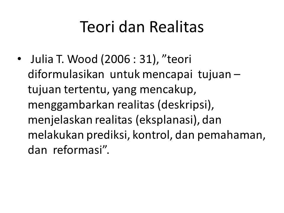 Teori dan Realitas Julia T.