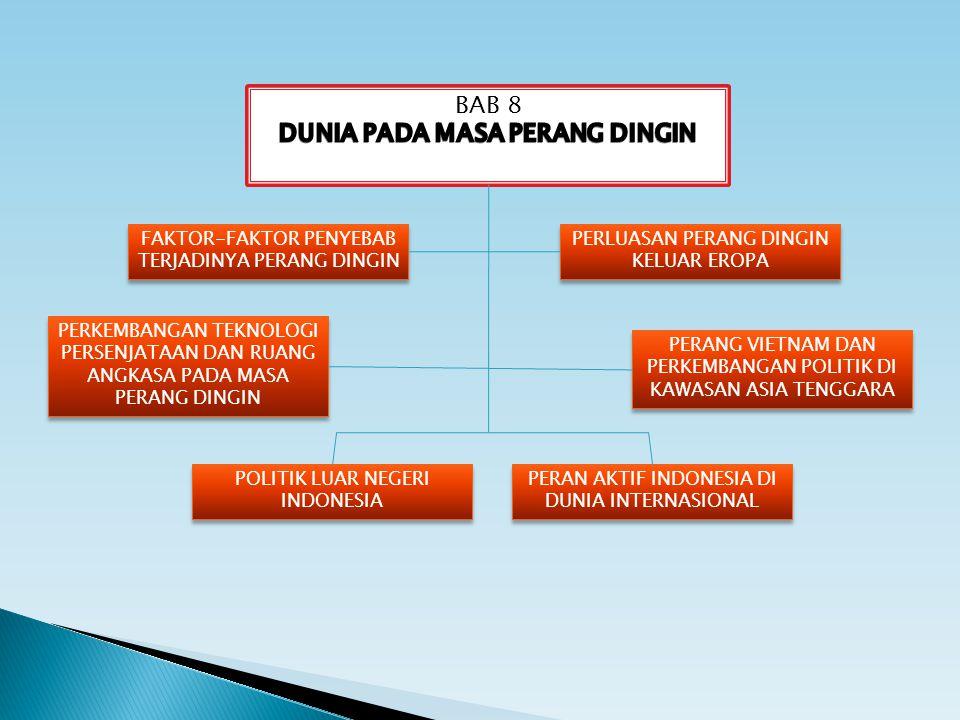 FAKTOR-FAKTOR PENYEBAB TERJADINYA PERANG DINGIN FAKTOR-FAKTOR PENYEBAB TERJADINYA PERANG DINGIN POLITIK LUAR NEGERI INDONESIA POLITIK LUAR NEGERI INDO