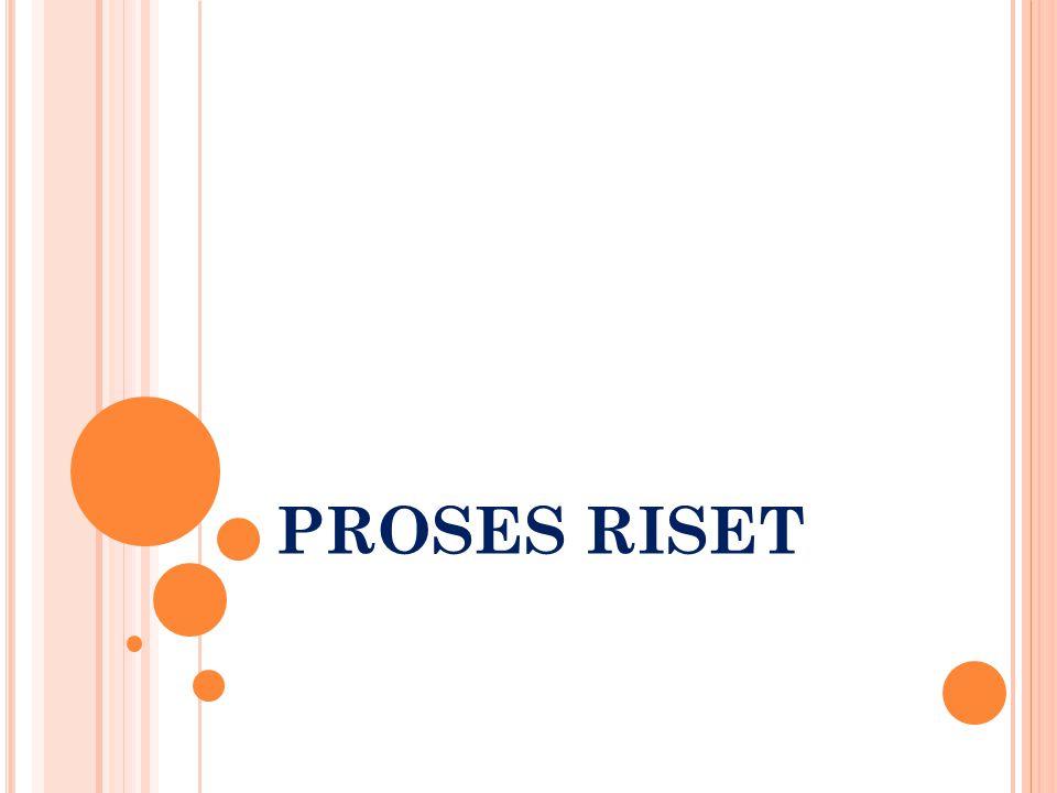 PROSES RISET