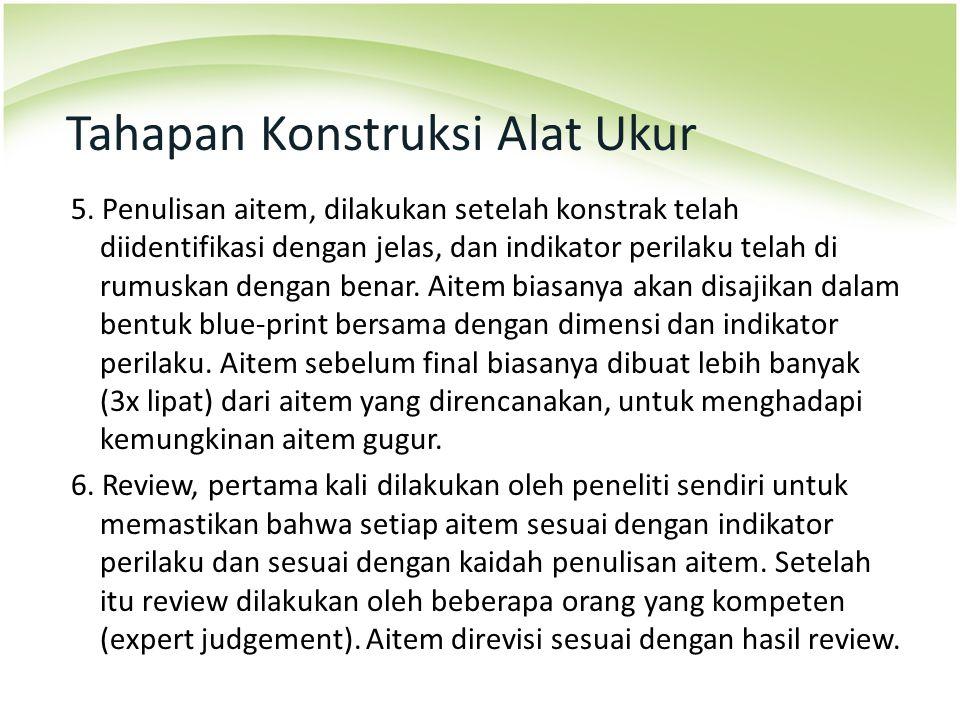 Tahapan Konstruksi Alat Ukur 7.