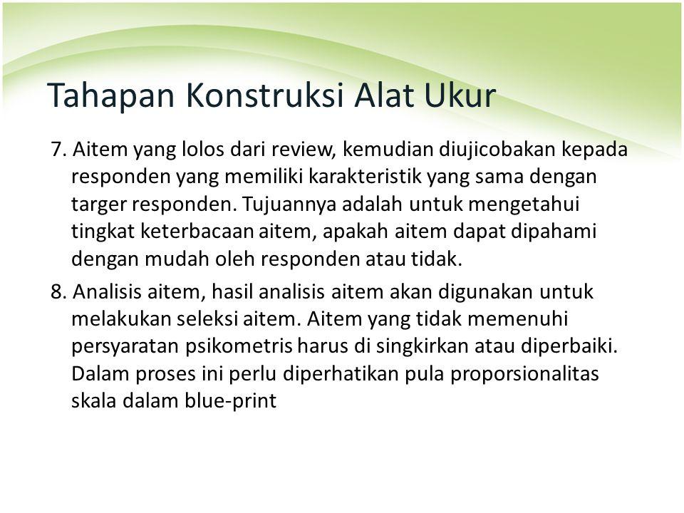 Tahapan Konstruksi Alat Ukur 9.