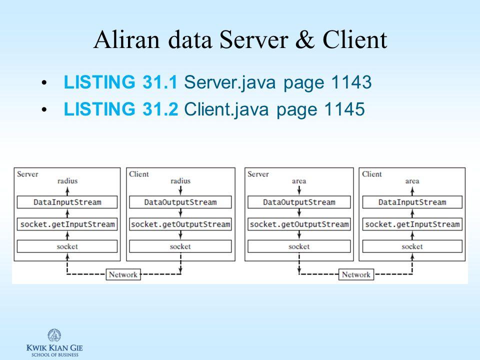 Server & Client