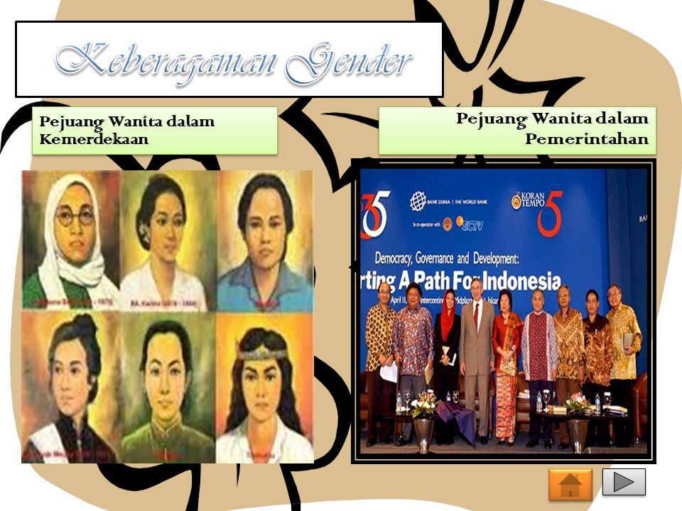 Pejuang Wanita dalam Kemerdekaan Pejuang Wanita dalam Pemerintahan