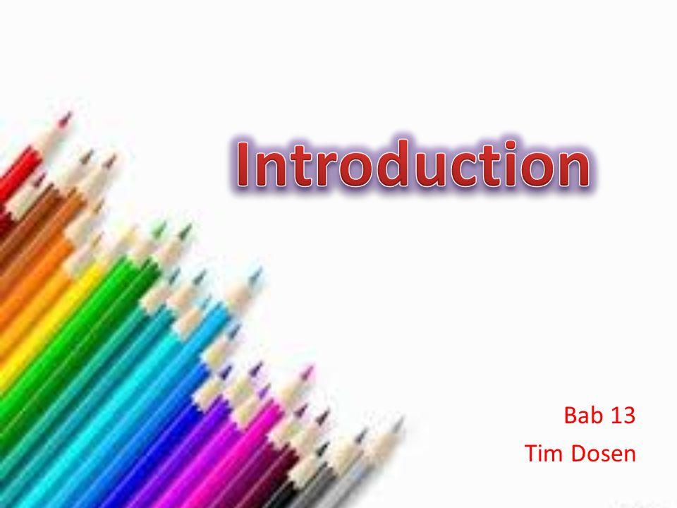 Bab 13 Tim Dosen