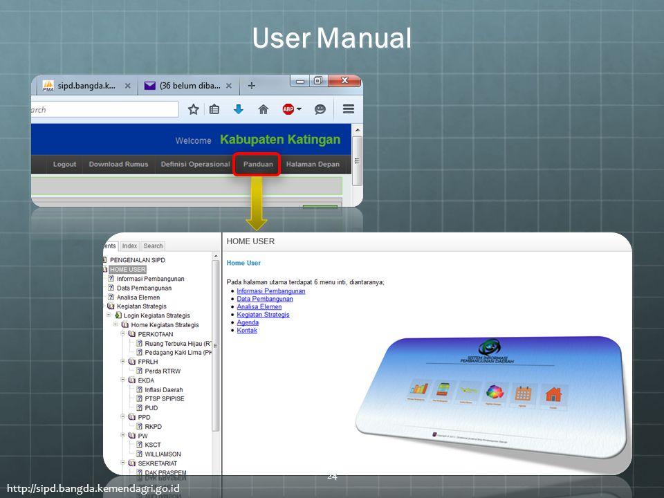 User Manual http://sipd.bangda.kemendagri.go.id 24