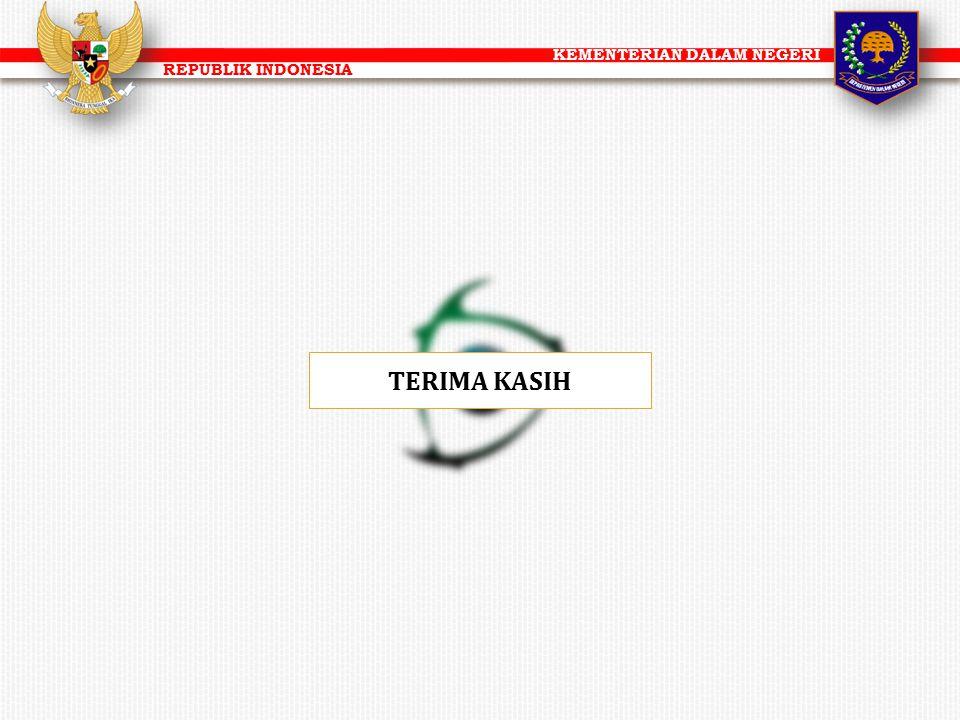 KEMENTERIAN DALAM NEGERI REPUBLIK INDONESIA TERIMA KASIH