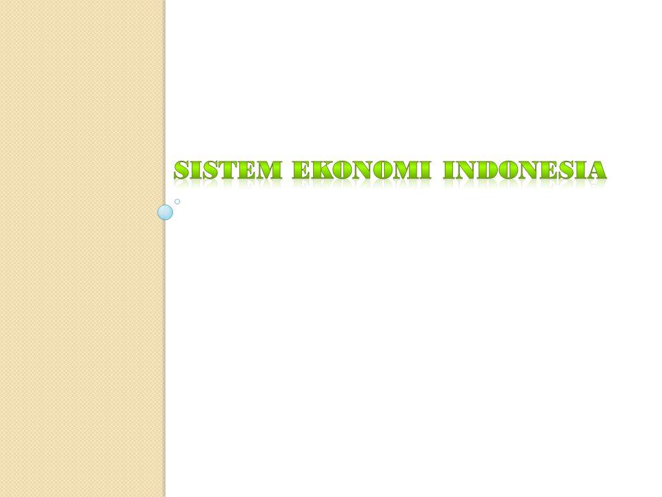 Sistem ekonomi di Indonesia  Secara normatif sistem ekonomi Indonesia adalah sistem ekonomi yang berdasarkan demokrasi ekonomi.