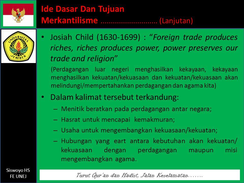Turut Qur'an dan Hadist, Jalan Keselamatan…….