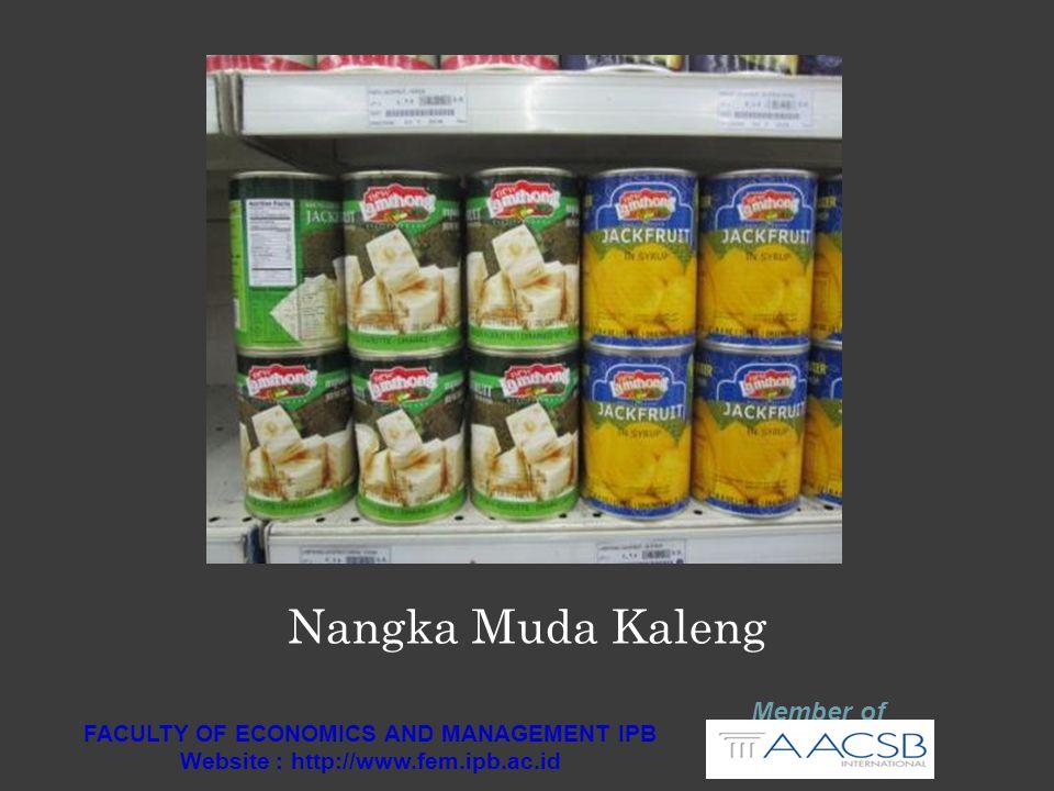 Member of FACULTY OF ECONOMICS AND MANAGEMENT IPB Website : http://www.fem.ipb.ac.id Paria Kaleng