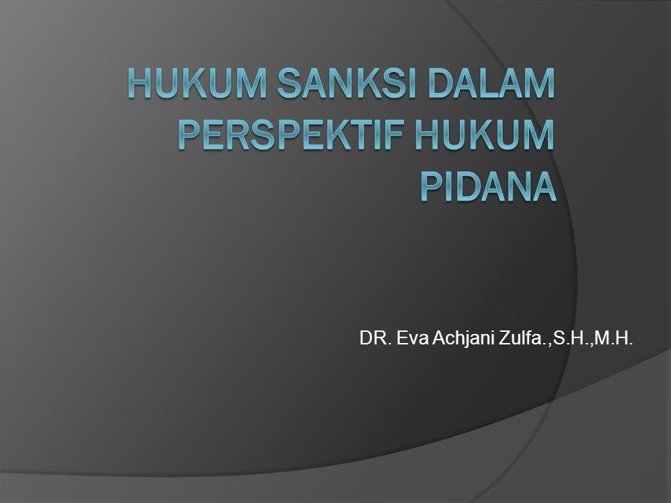 DR. Eva Achjani Zulfa.,S.H.,M.H.