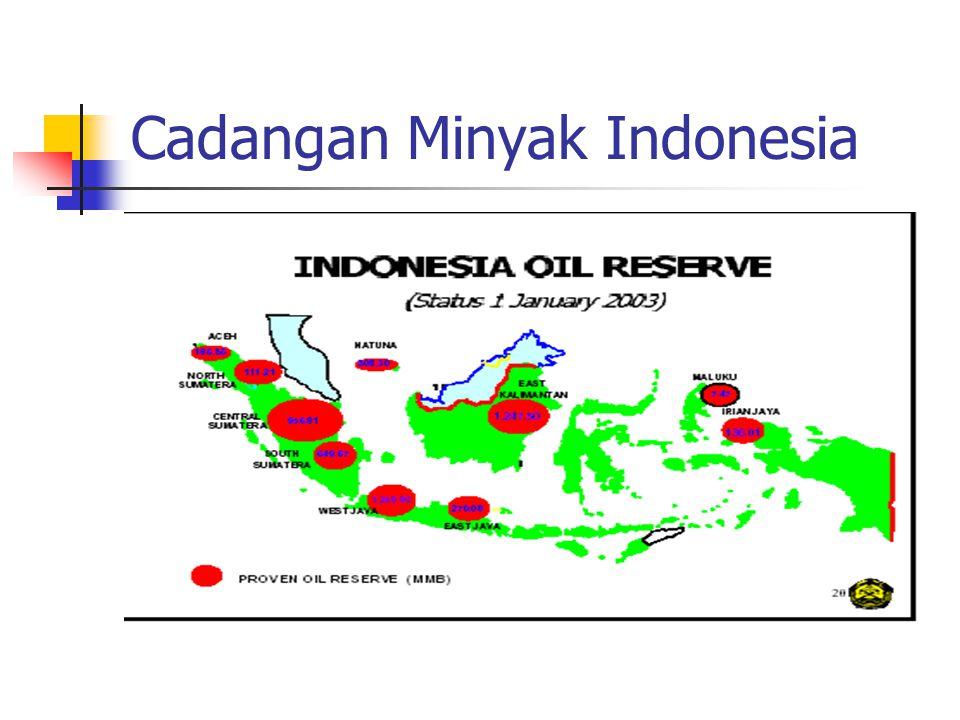 Cadangan Minyak Indonesia