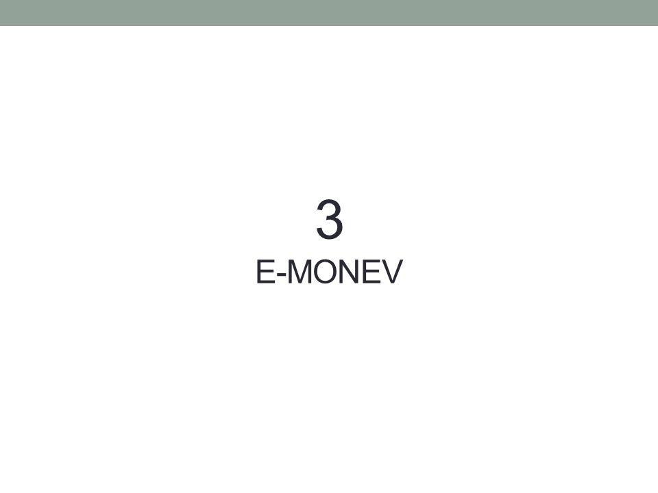 3 E-MONEV