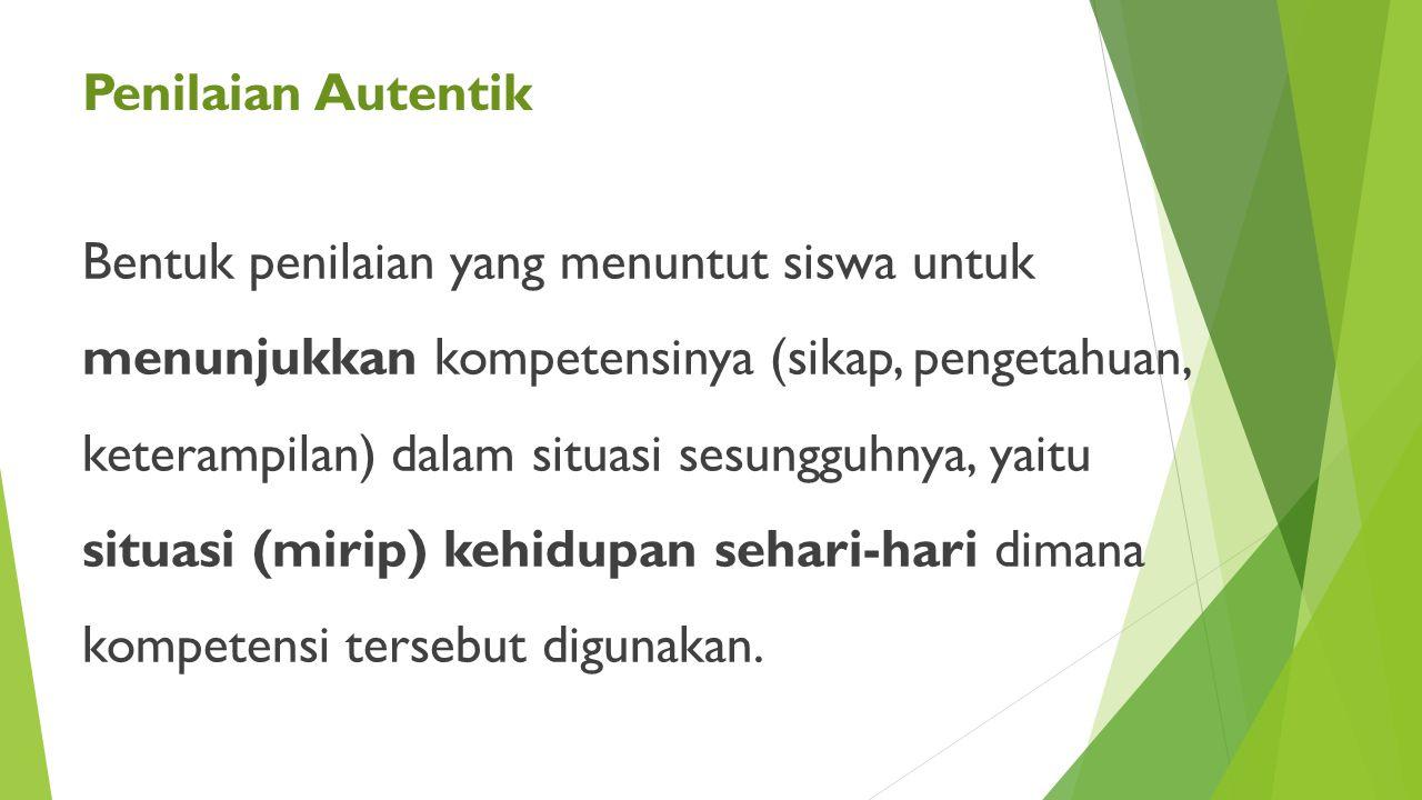 Kriteria 123 Tingkatan