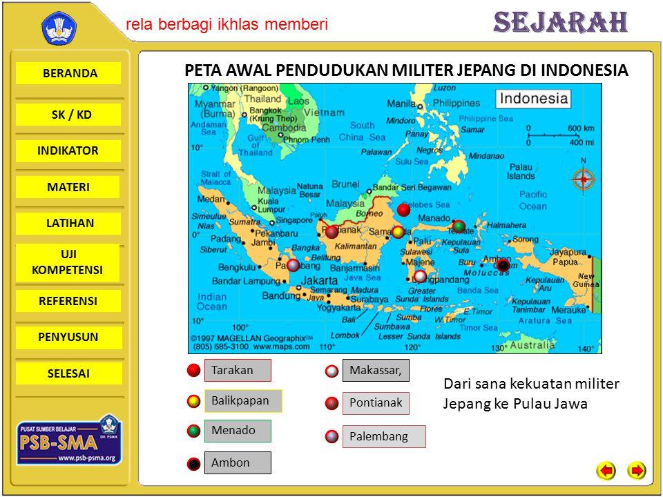 BERANDA SK / KD INDIKATORSejarah rela berbagi ikhlas memberi MATERI LATIHAN UJI KOMPETENSI REFERENSI PENYUSUN SELESAI REAKSI RAKYAT TERHADAP PEMERINTAHAN MILITER JEPANG DI INDONESIA Perlawanan Aceh (Cot Plieng) Tokoh : Tengku Abdul Jalil Singaparna Tokoh : K.