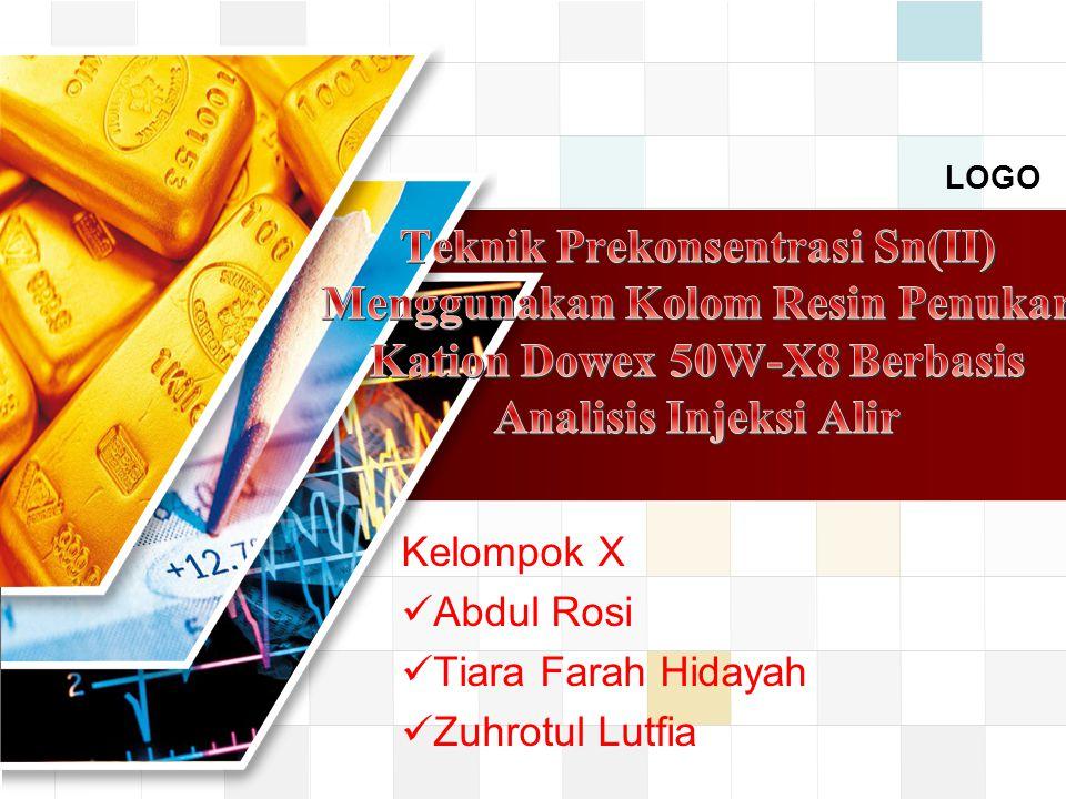 LOGO Kelompok X Abdul Rosi Tiara Farah Hidayah Zuhrotul Lutfia