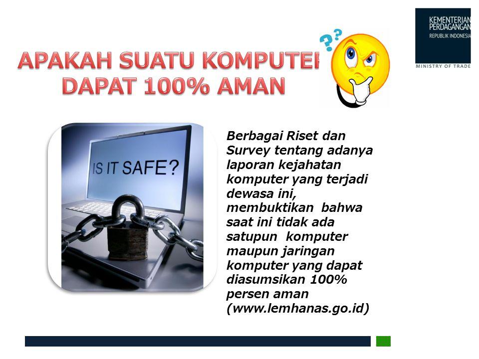 M asalah keamanan merupakan salah satu aspek penting dari sebuah sistem informasi.