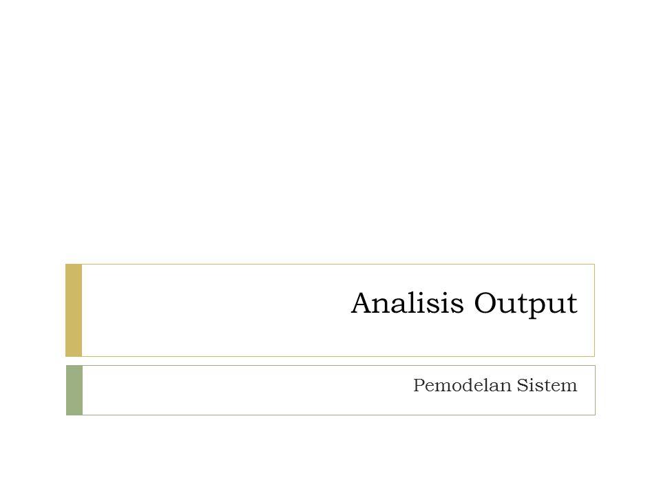 Analisis Output.