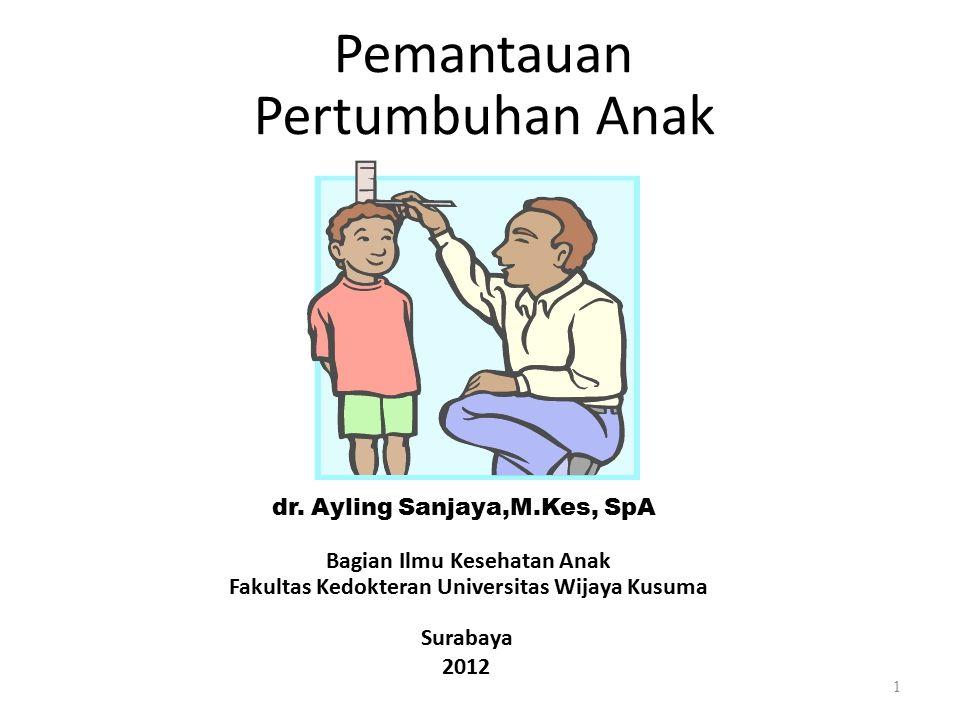 Pemantauan Pertumbuhan Anak dr.
