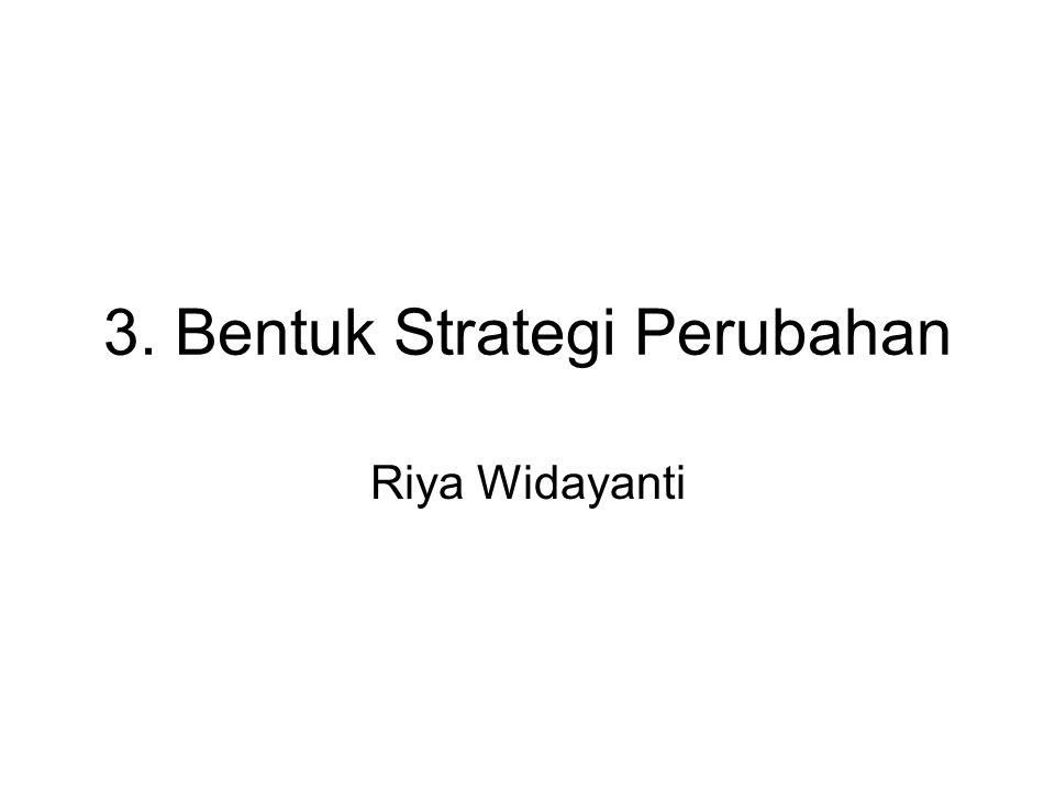 3. Bentuk Strategi Perubahan Riya Widayanti