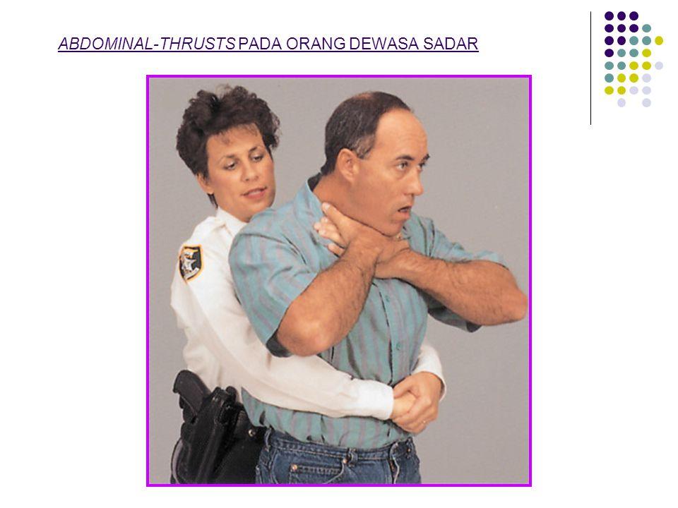CHEST-THRUSTS PADA ORANG DEWASA (WANITA HAMIL)