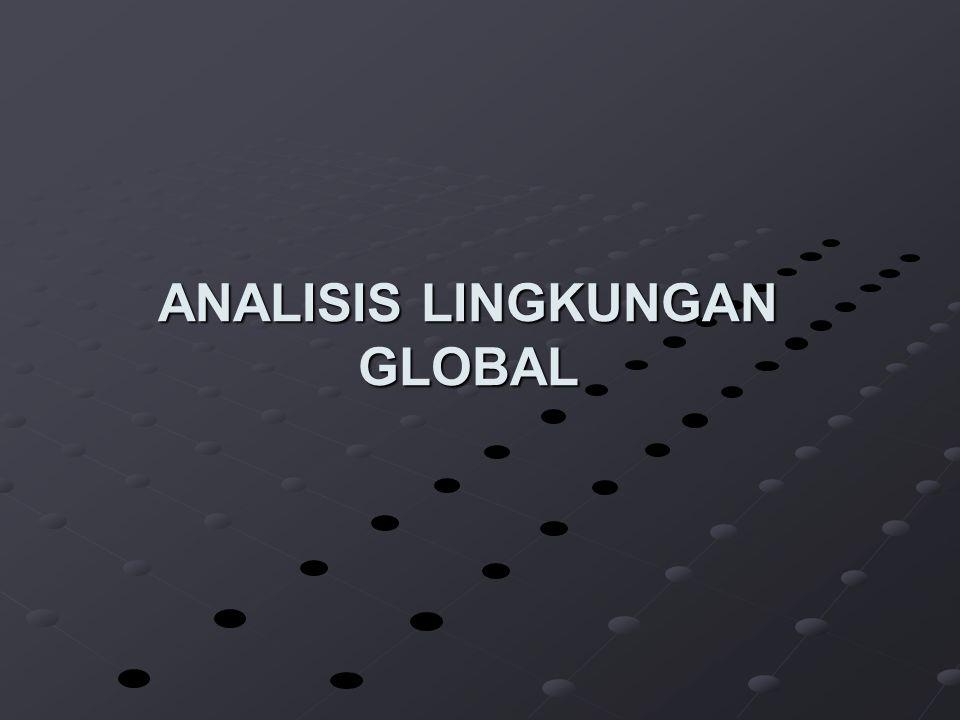 ANALISIS LINGKUNGAN GLOBAL
