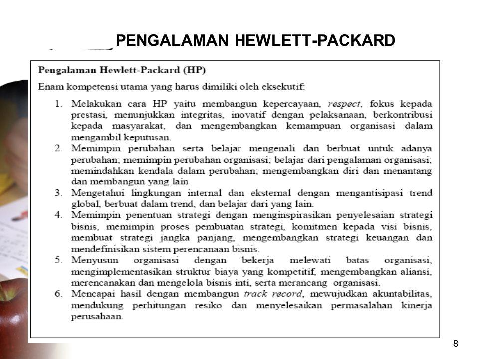 8 PENGALAMAN HEWLETT-PACKARD