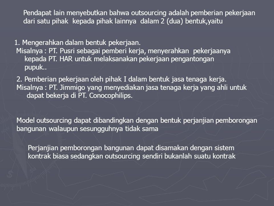 Pekerja/buruh dalam perjanjian pemborongan bangunan dapat disamakan dengan pekerja harian lepas seperti yang diatur dalam Peraturan Menteri Tenaga Kerja NR : PER.