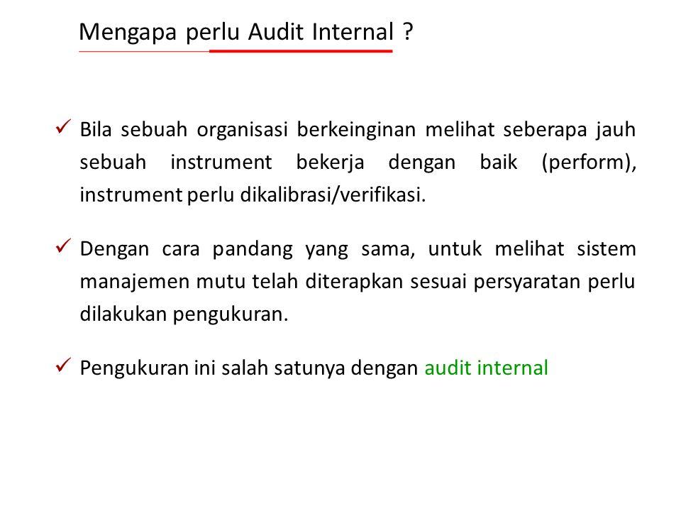 5 Kesimpulan Audit adalah hasil audit oleh tim audit setelah mempertimbangkan sasaran audit dan semua temuan audit. Klien Audit adalah organisasi atau