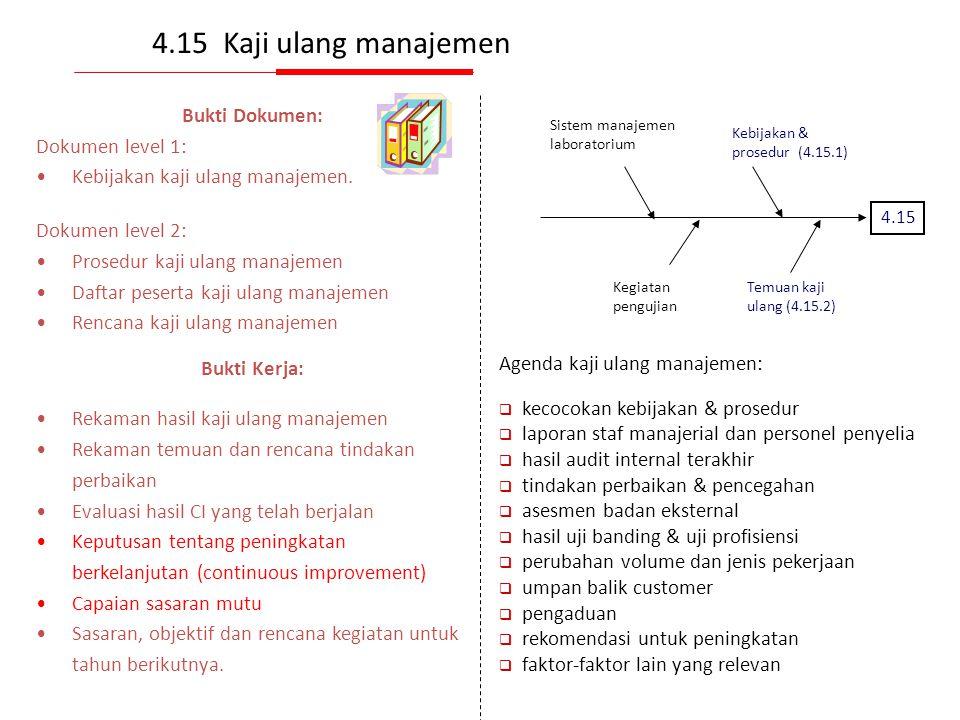 Implementasi program audit Jenis AuditTujuanLingkupKlien Audit 1. Asesmen Kesesuaian kemampuan menghasilkan data valid. Seluruh klausul Uji profisiens