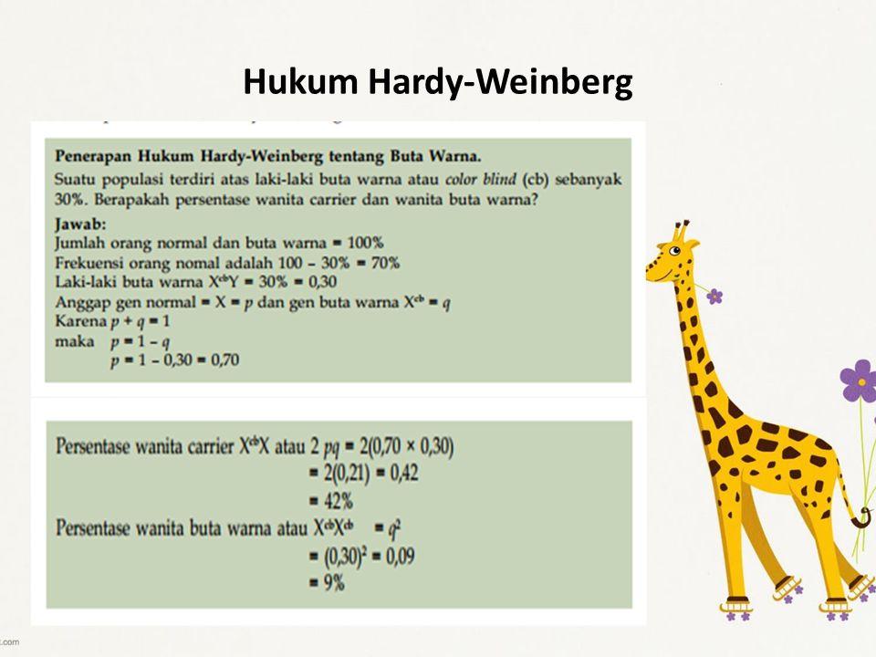 Hukum Hardy-Weinberg