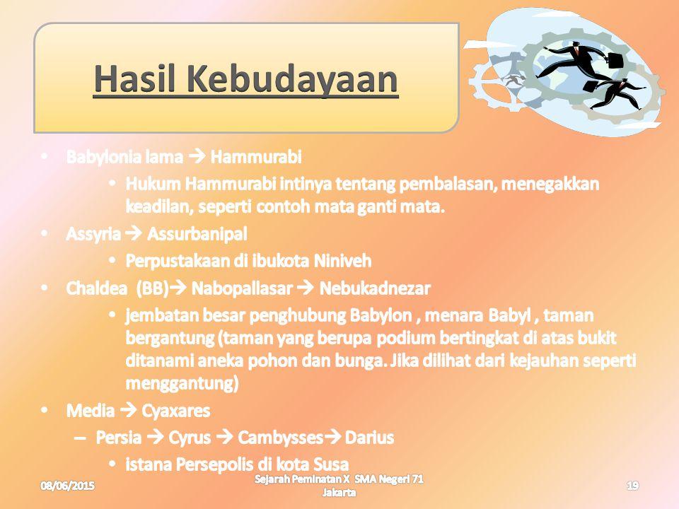 08/06/201519 Sejarah Peminatan X SMA Negeri 71 Jakarta