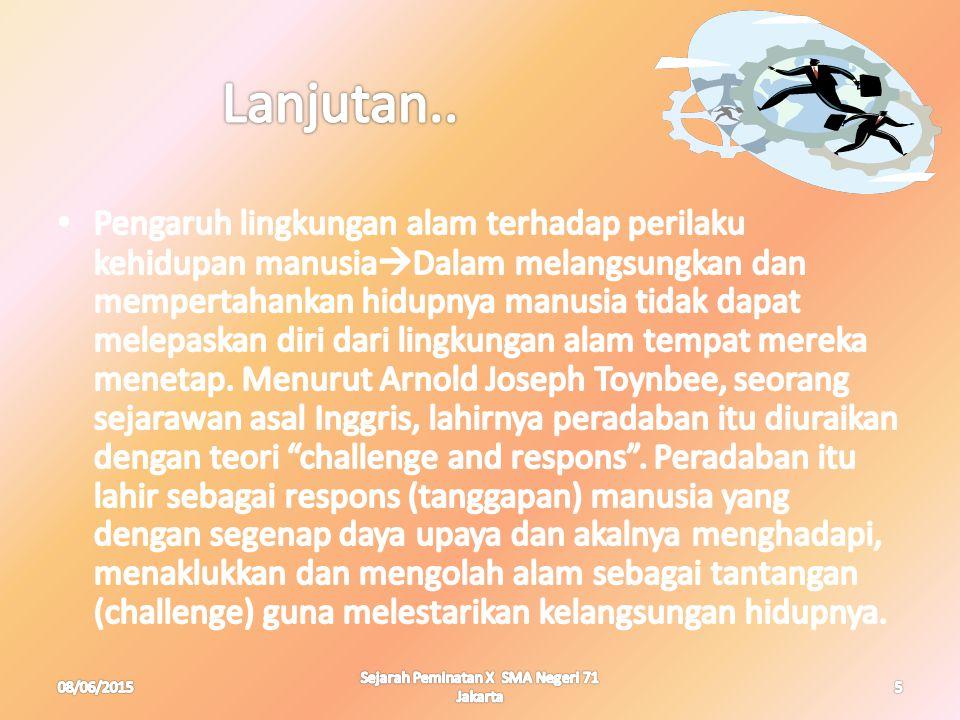 08/06/20155 Sejarah Peminatan X SMA Negeri 71 Jakarta
