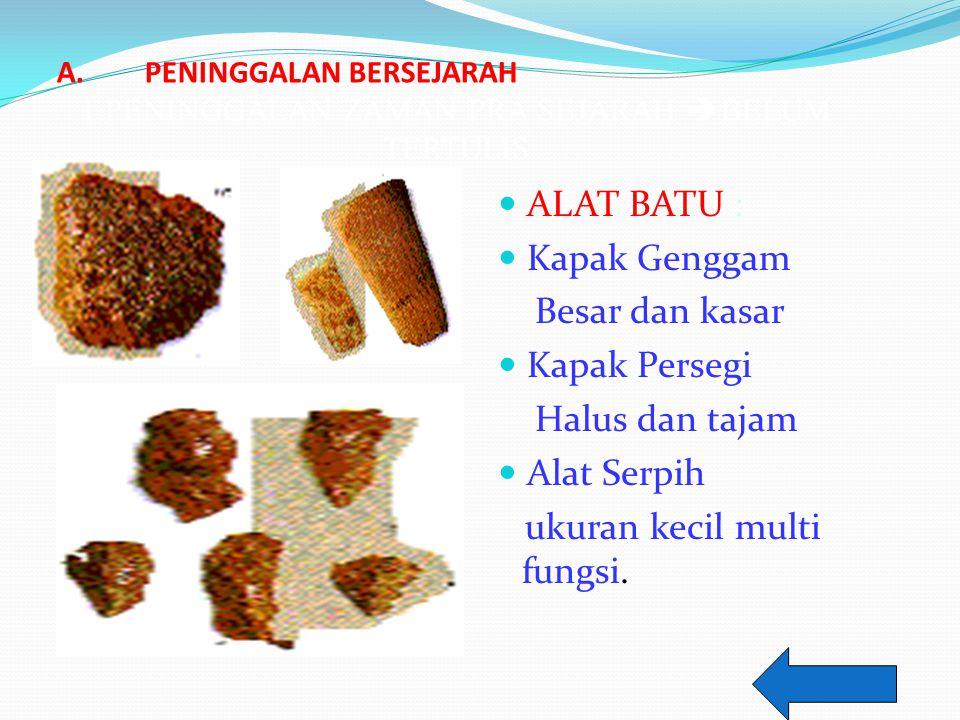 Gelombang kedua ( 500 SM ) Gelombang kedua ini juga termasuk dalam rumpun bangsa Auustronesia disebut Deutro Melayu.