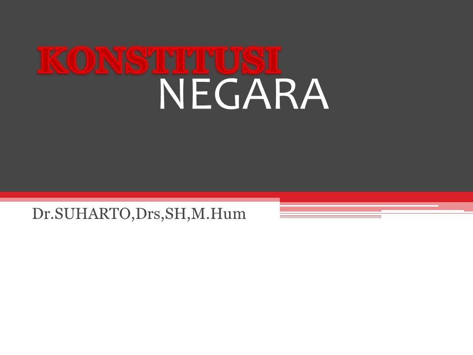 NEGARA Dr.SUHARTO,Drs,SH,M.Hum