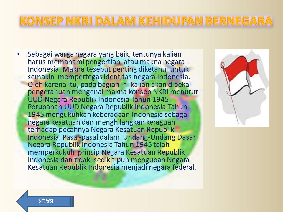 Sebagai warga negara yang baik, tentunya kalian harus memahami pengertian atau makna negara Indonesia. Makna tesebut penting diketahui untuk semakin m