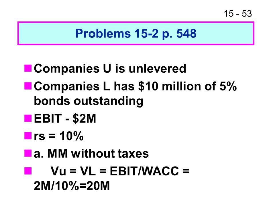 15 - 53 Problems 15-2 p.