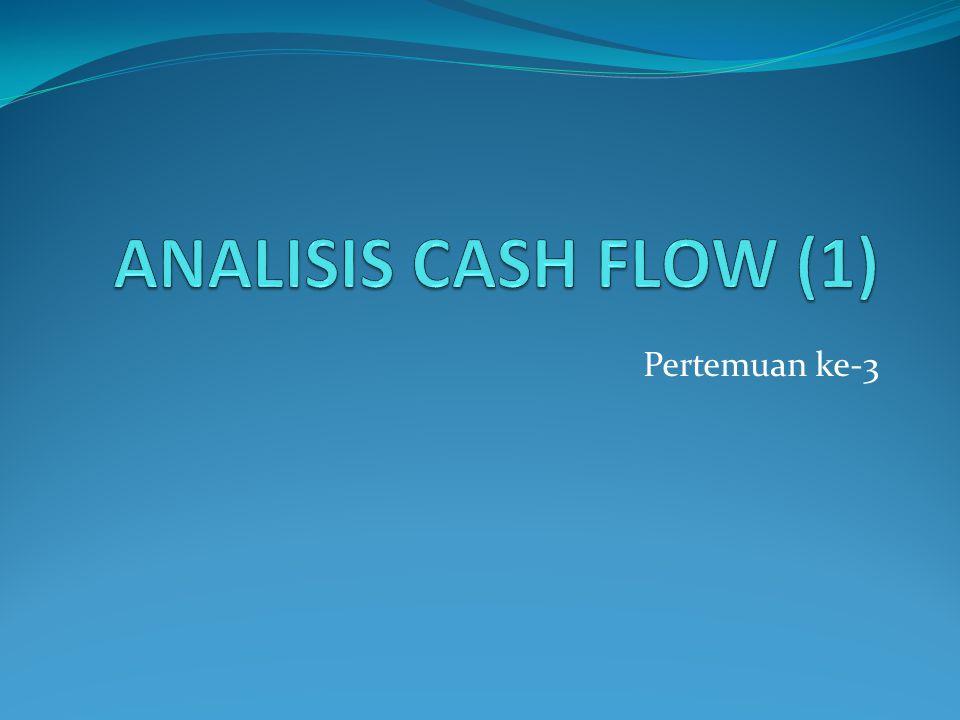 UNIFORM ANNUAL CASH FLOW Membandingkan cash flow tahunan yang seragam.
