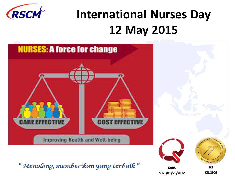 International Nurses Day 12 May 2015