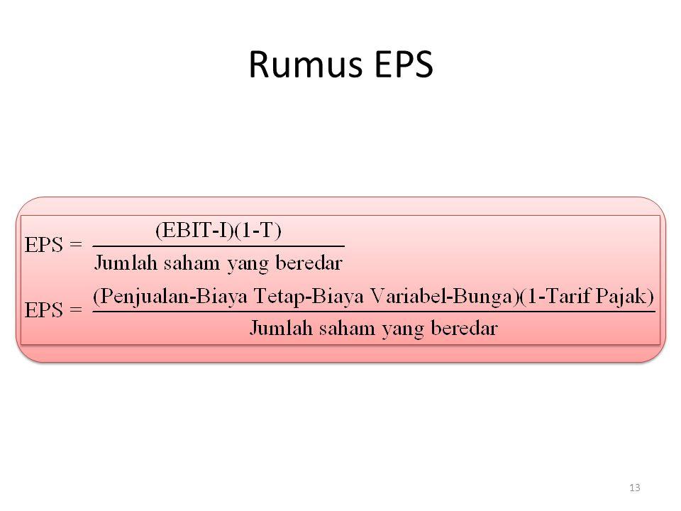 Rumus EPS 13