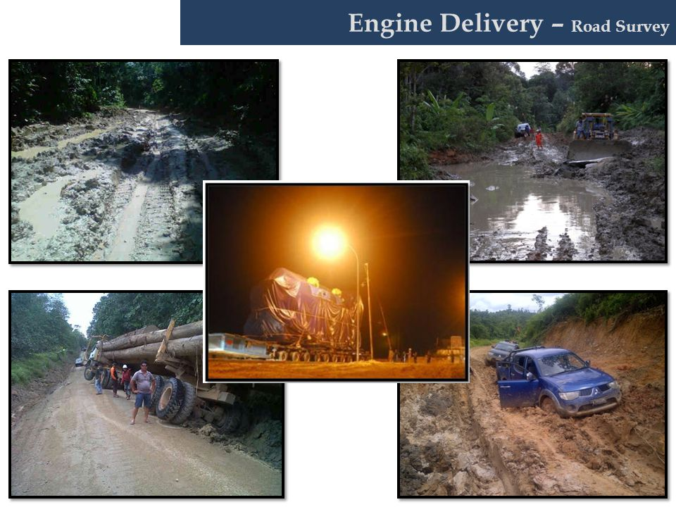 Engine Delivery – Road Survey