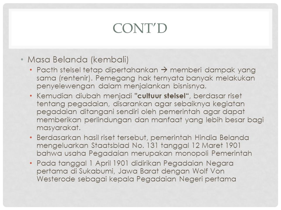 CONT'D 4.Peraturan Ketua Bapepam dan LK No.