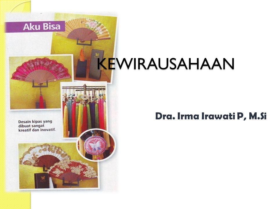 KEWIRAUSAHAAN Dra. Irma Irawati P, M.Si