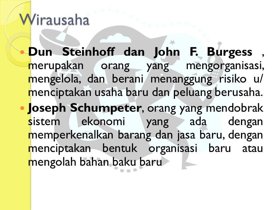 Dun Steinhoff dan John F.