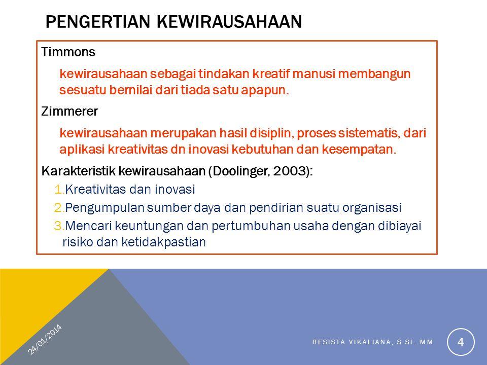 FOR STUDENTS.... 24/01/2014 RESISTA VIKALIANA, S.SI. MM 15