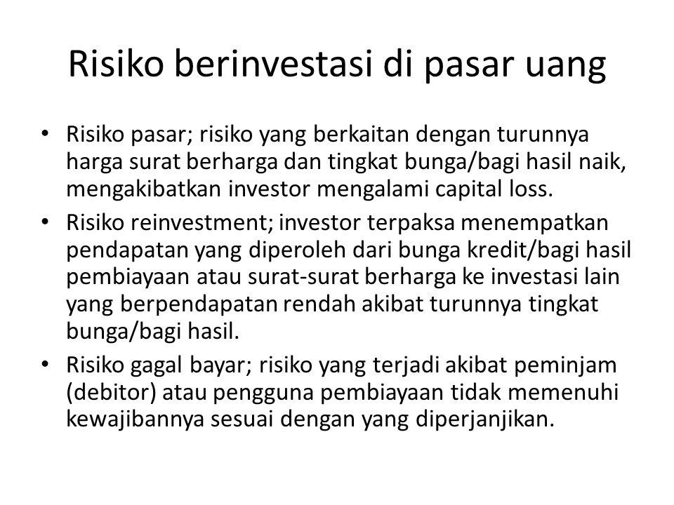 Surat berharga lainnya Option; surat pernyatan yang dikeluarkan oleh seseorang/lembaga untuk memberikan hak kepada pemegangnya untuk membeli saham dan menjual saham pada harga yang tela ditentukan sebelumnya.