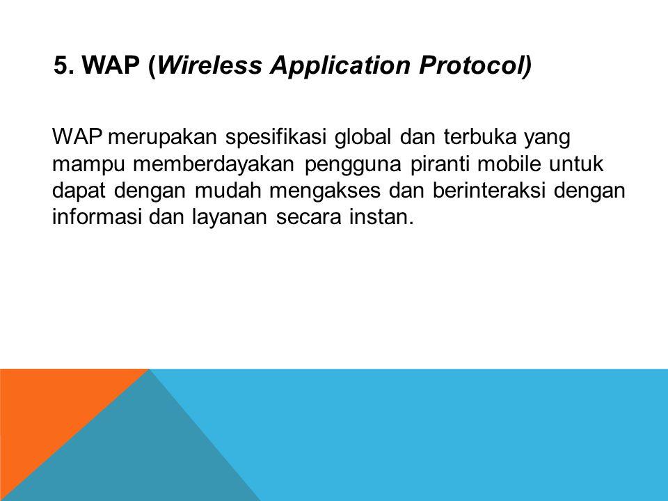 4. GPRS (General Packet Radio Services) GPRS adalah sistem koneksi internet yang meng- gunakan perangkat GSM, dengan GPRS panggilan voice dapat dilaku